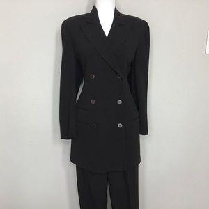 Donna Karan Dark Umber Suit, Size 14